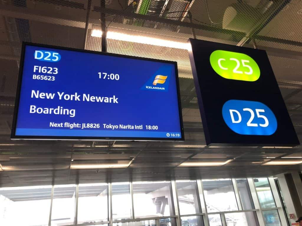 Icelandair to New York ERW
