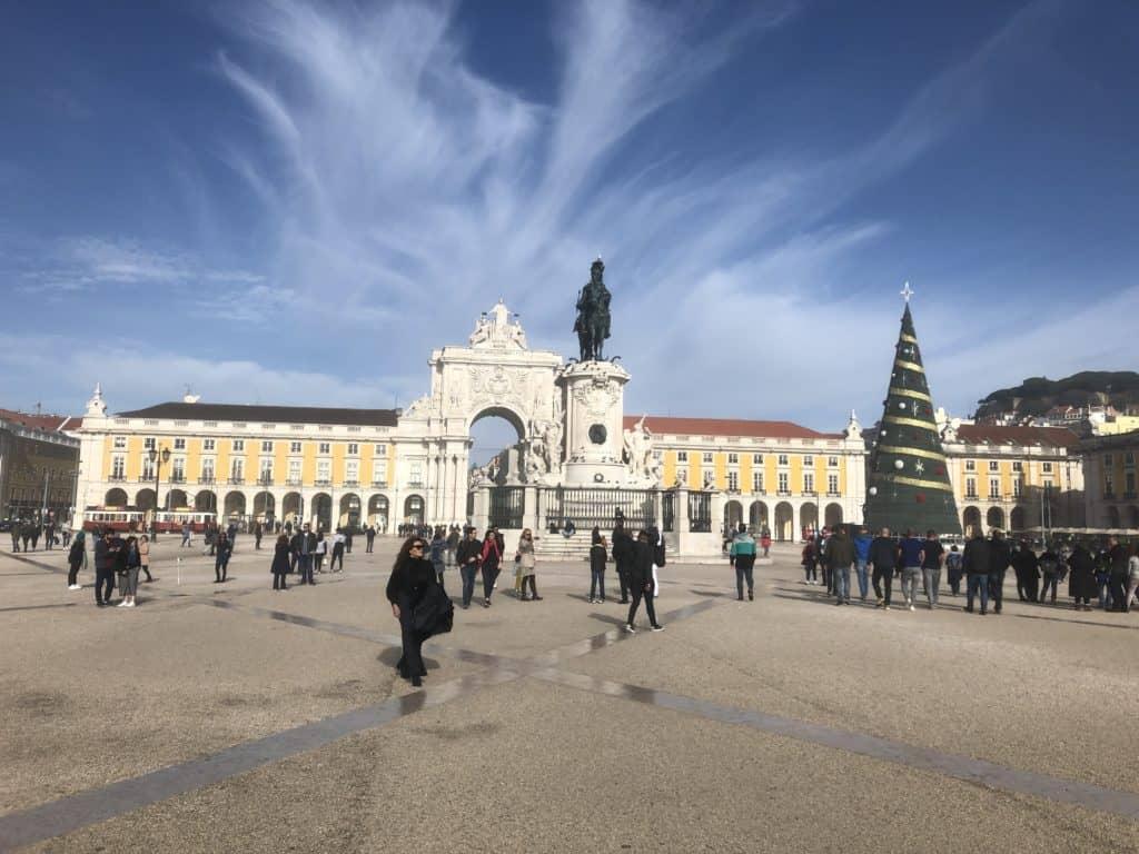Weekend w Lizbonie, Praça do Comércio, Lizbona, Portugalia