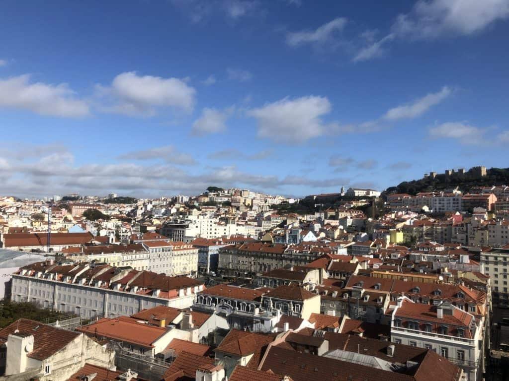 Winda Satna Justa w Lizbonie
