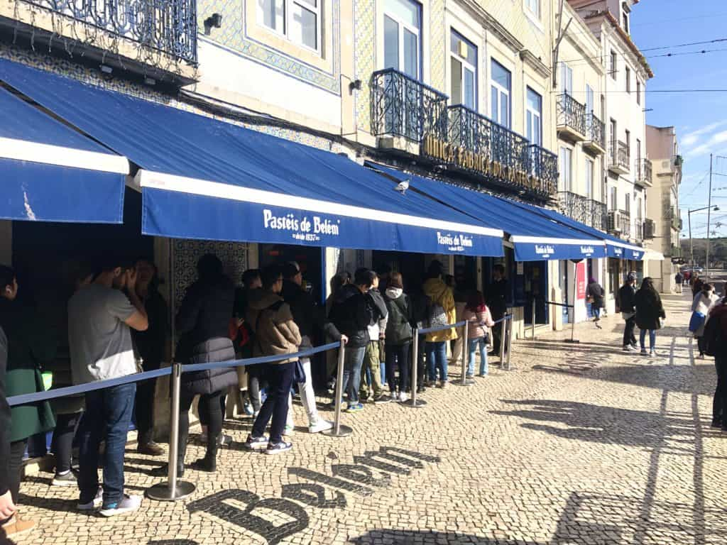 Lizbona, Pasteis de Belem