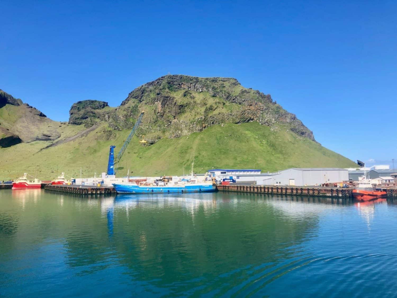 Vestmannaeyjar, Islandia.