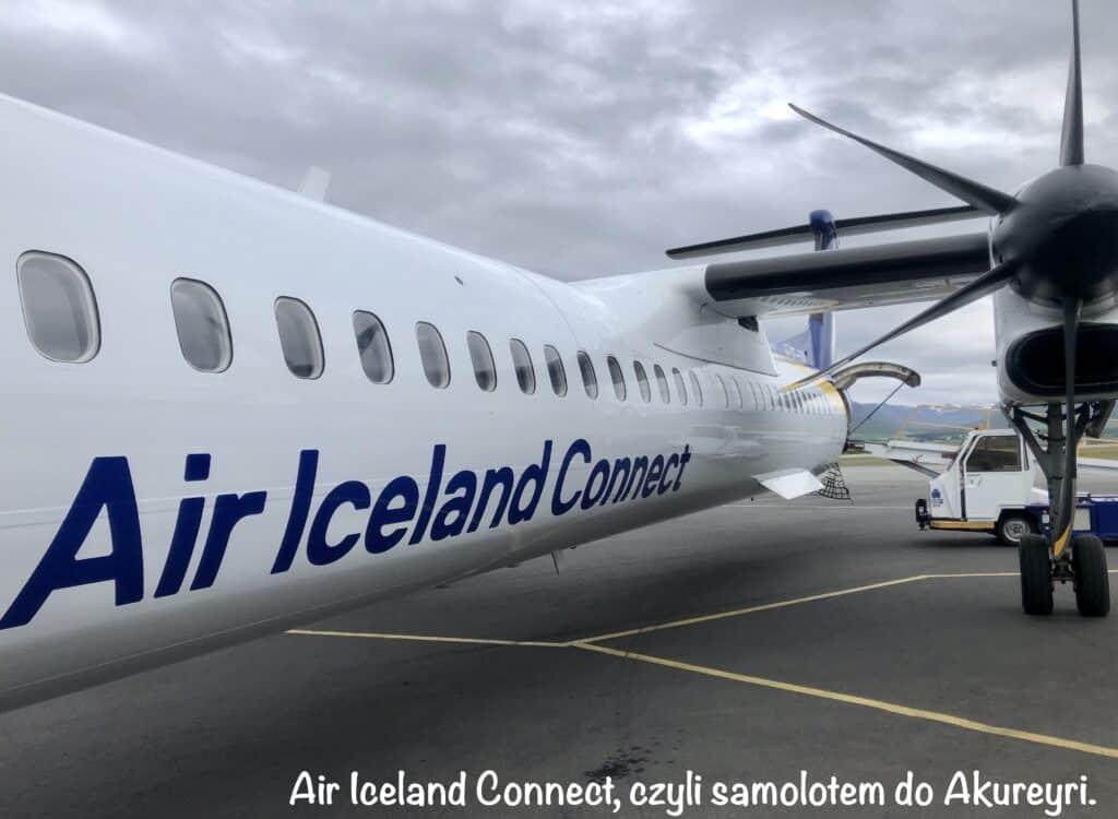 Air Iceland Connect, czyli samolotem do Akureyri