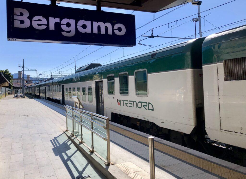 Stacja kolejowa w Bergamo